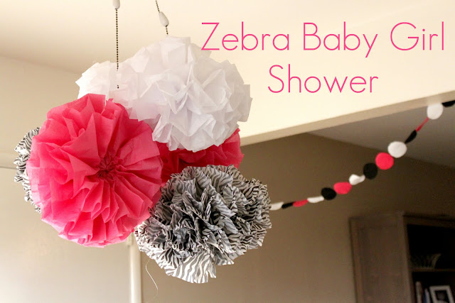 creation corner zebra baby shower