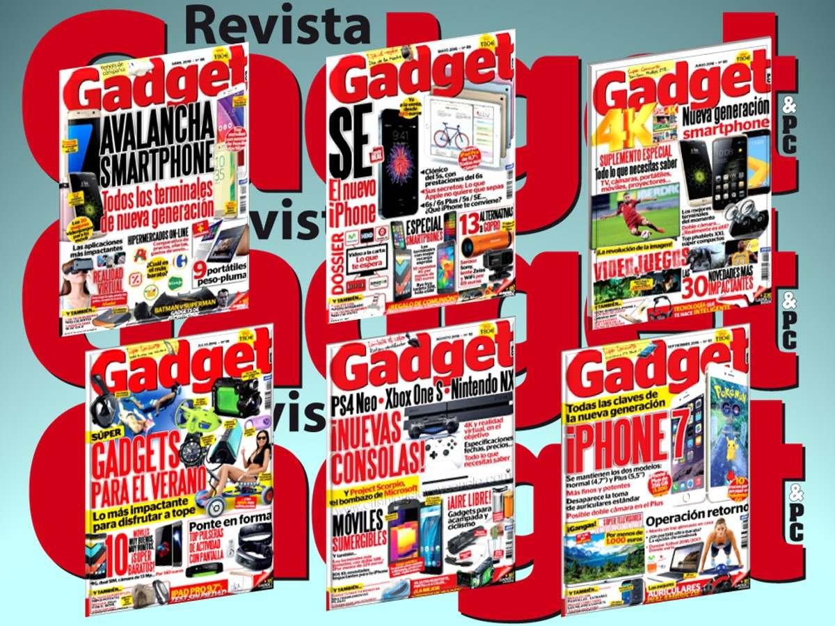 Colección De Revistas Gadget