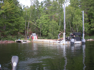 Barge, lake, El Minnesota, http://huismanconcepts.com/