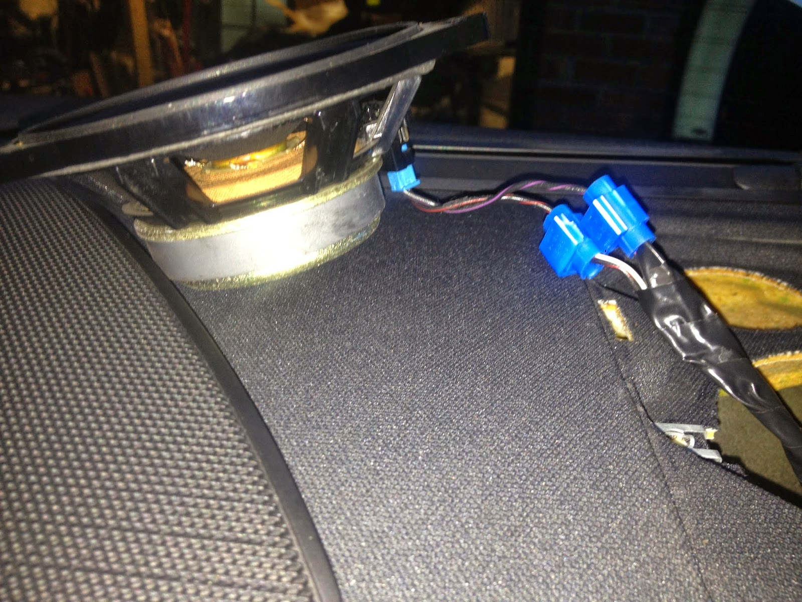 Beemer Lab March 2014 Thread E36 Rear Speaker Wiring Done In 5 Minutes
