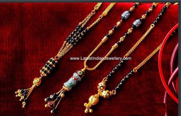 Latest Black Beads Chain Models