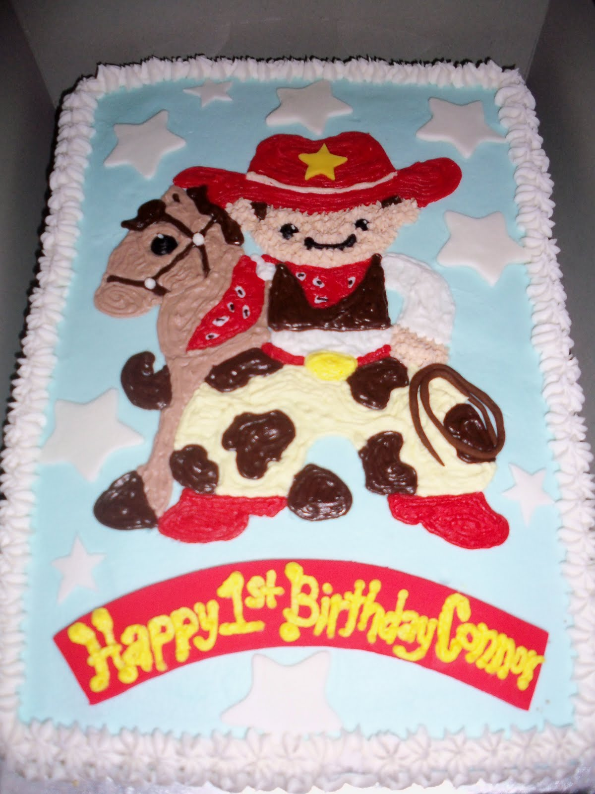Sweet Treats By Susan Little Cowboy 1st Birthday Cake