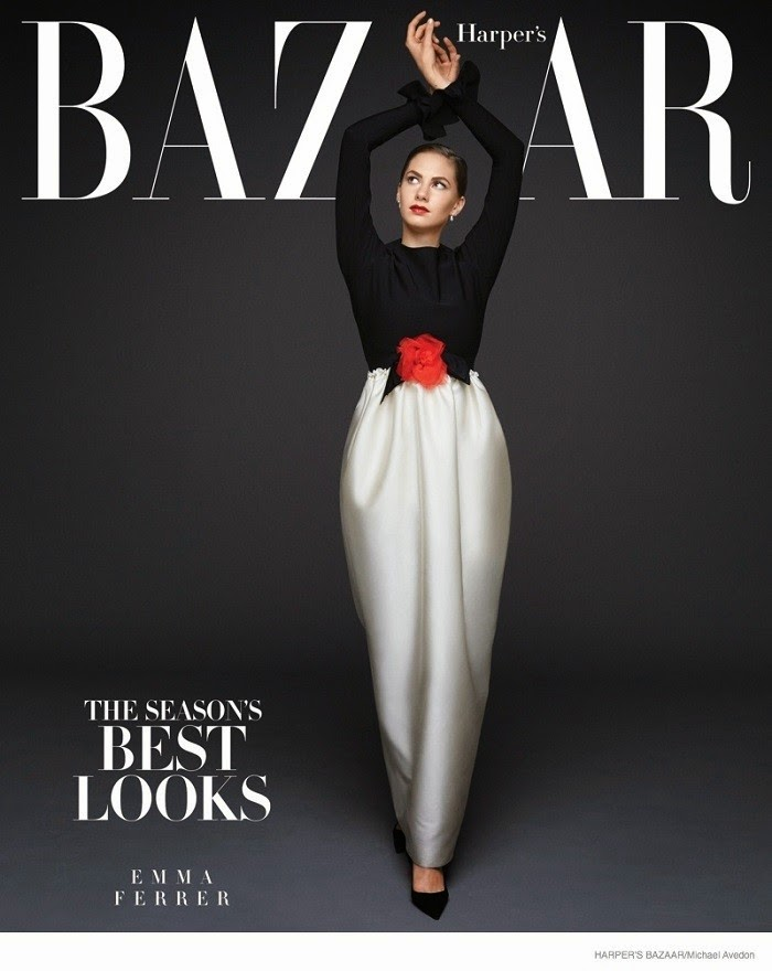 Emma Ferrer - Harper's Bazaar Magazine, September 2014