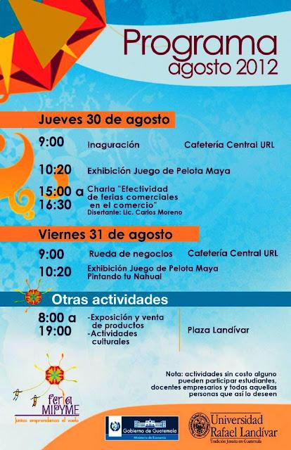Programa Feria de la Michro, Pequeña y Mediana Empresa