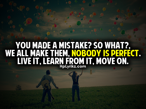 Mistake Quotes and Sayings - Images, Pictures - CoolNSmart