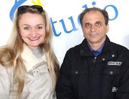 Airton Engster dos Santos e Delegada Márcia Scherer