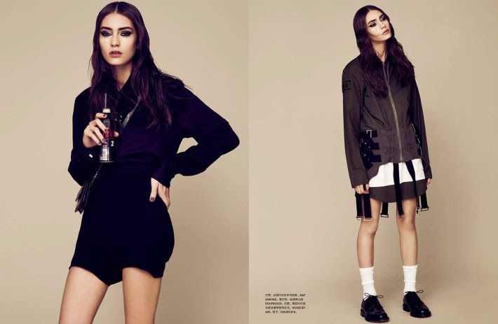 Marine Deleeuw HQ Pictures Numéro  Magazine Photoshoot March 2014 By Bruno Staub