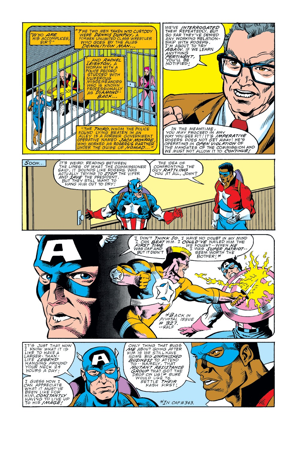 Captain America (1968) Issue #345 #275 - English 4