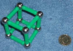 Geomag cube.