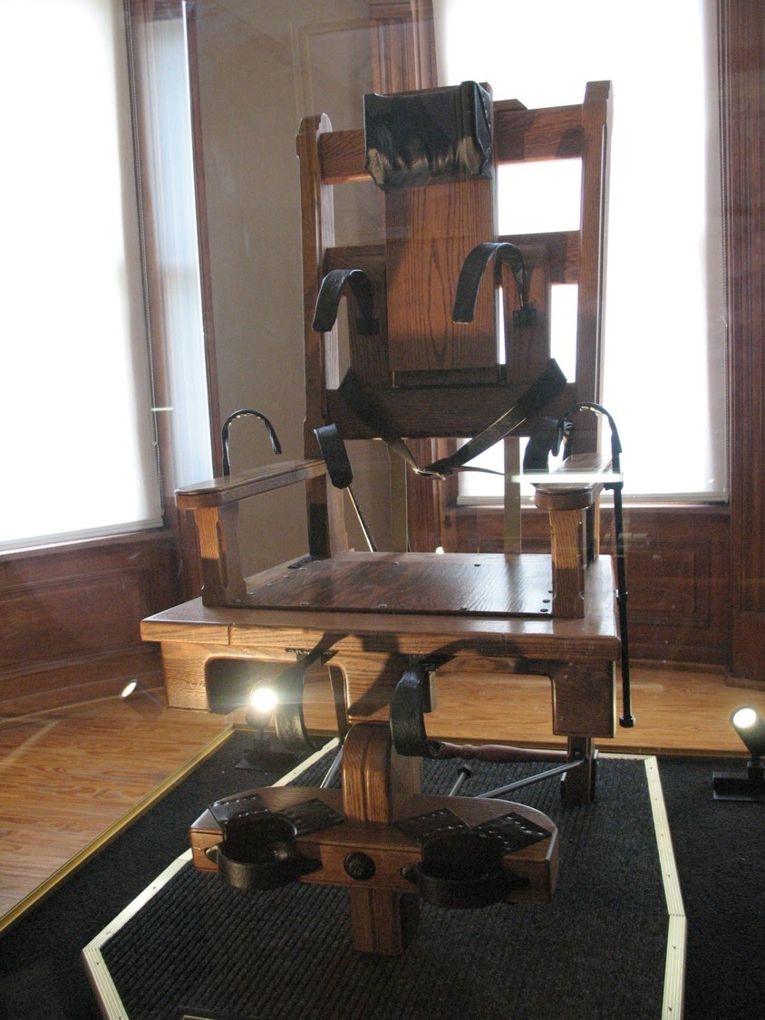 the electric chair Old sparky is the nickname of the electric chairs in arkansas, connecticut, florida, georgia, illinois, kentucky, nebraska, new york, ohio, oklahoma, south carolina .