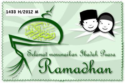 Jadwal Imsakiyah Ramadhan 1433 H