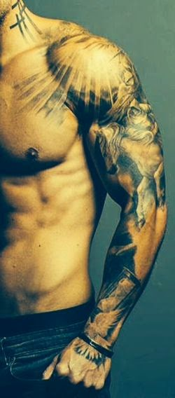 ♥ ♫ ♥ Awesome  Sleeve Tattoo For Man    ♥ ♫ ♥