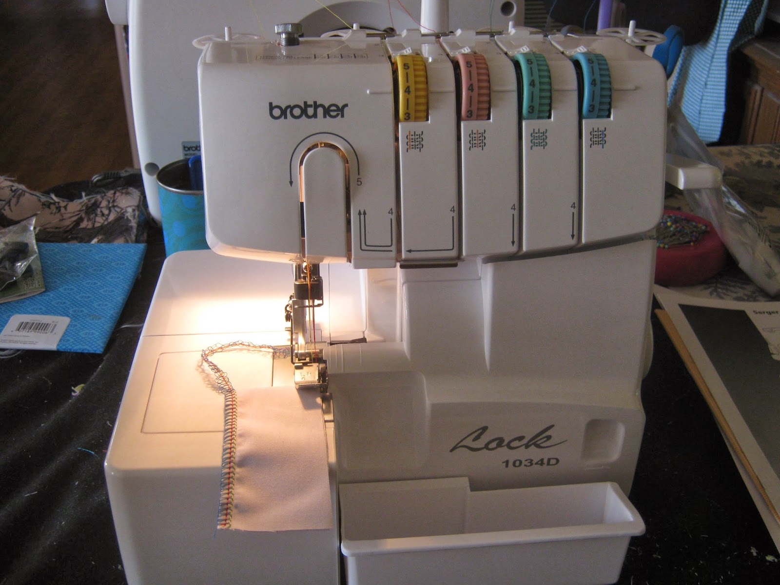 Brother Serger 1034D www.sewplus.blogspot.com