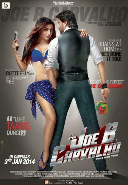 Mr Joe B Carvalho 2014 480p DVDRip 350mb, Bollywood movie Mr Joe B Carvalho 2014 DVDRip 300mb Original DvdRip watch online full movie HQ at world4ufree