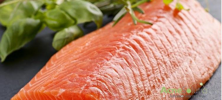 Thực phẩm trị mụn tốt nhất là cá hồi