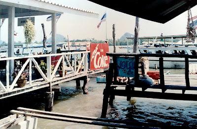 Floating Restaurants. Koh Panyi and James Bond Island, Phuket, Thailand