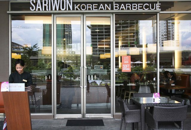 Sariwon Korean Barbecue facade