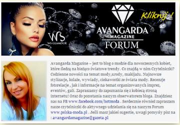 Christopher poleca - Najnowszy magazyn dla Pań Avangarda. Twarz miesiąca - casting - fryzury - moda