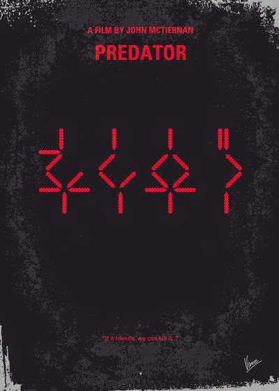 Minimalist Movie Posters Predator