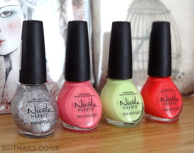 Nicole by OPI Seize The Summer Collection