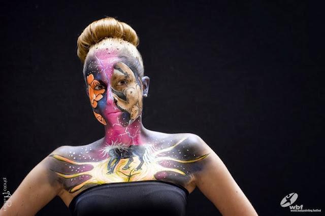 Kumpulan Foto Body Painting 8