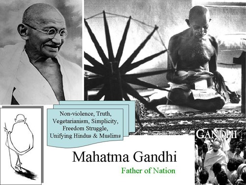 a biography of mohandas karamchand gandhi the leader of the independence movement in india Karamchand uttamchand gandhi (1822–1885) also known as kaba gandhi, was a political figure in porbandar he served as diwan of porbandar , rajkot , and wankaner  he was the father of mohandas gandhi.