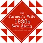 1930s Farmer's Wife Sew Along with Gnome Angel