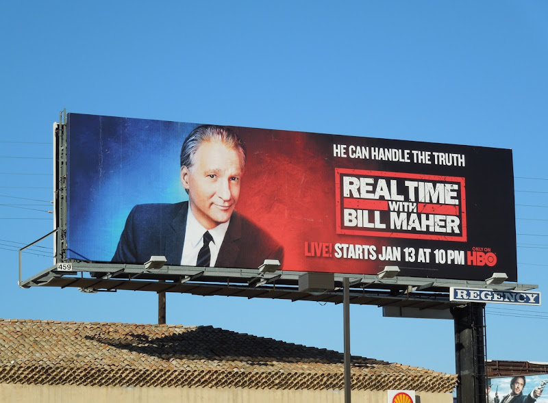 Real Time with Bill Maher billboard