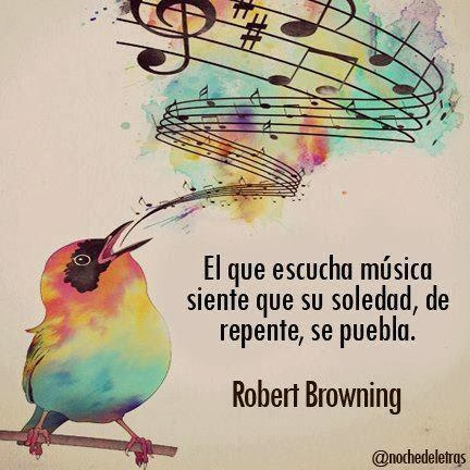 Escuchar la Música.