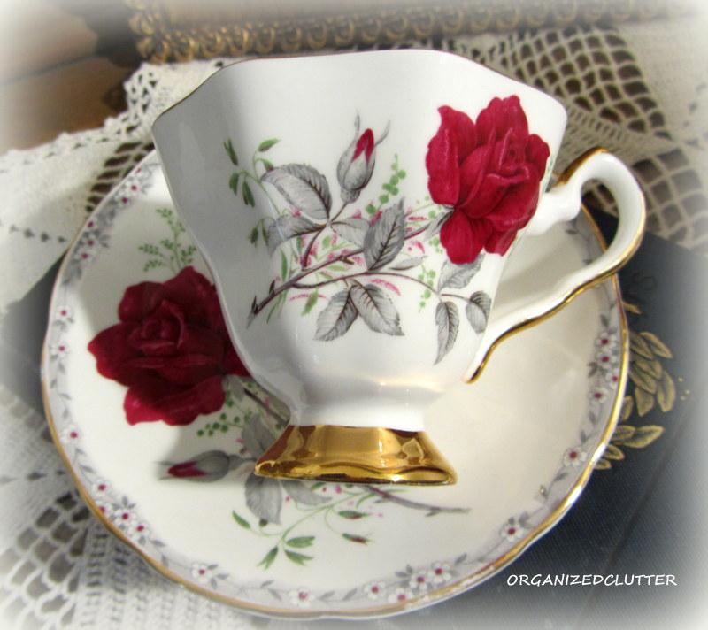 Organized Clutter: Tea Time 15: Royal Stafford & Queen Anne