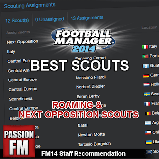 Football Manager 2014 Best Scouts