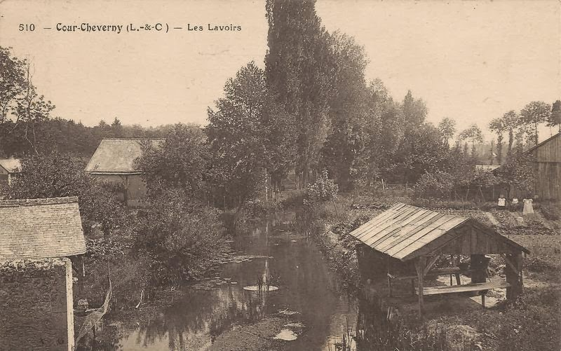 Le Conon vu du Pont de Beignon - Cour-Cheverny