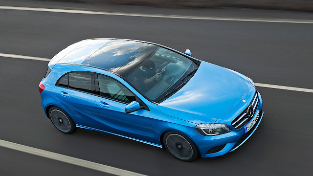 The Mercedes-Benz A-Class top