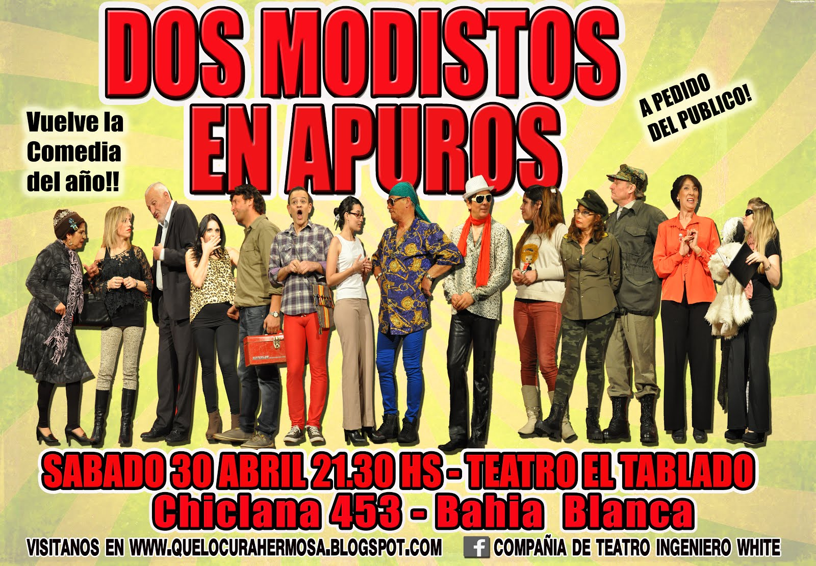 Dos modistos 30 de abril