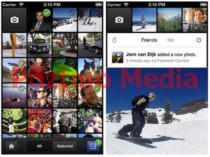 download facebook camera for ios - android - symbian