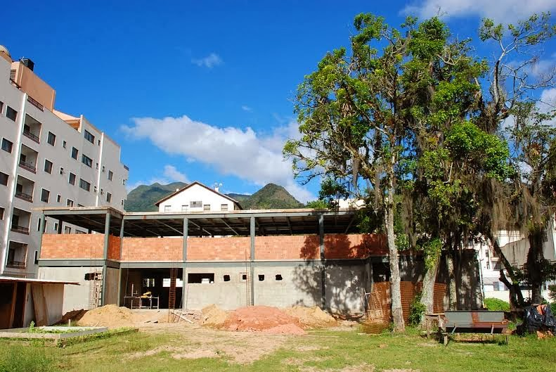 Delegacia Legal de Teresópolis em construção