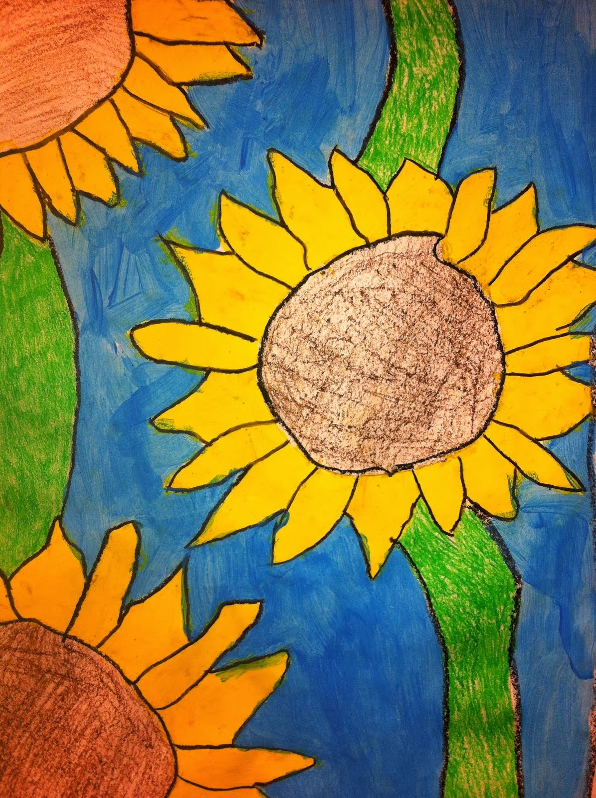 Grade 3 Sunflowers