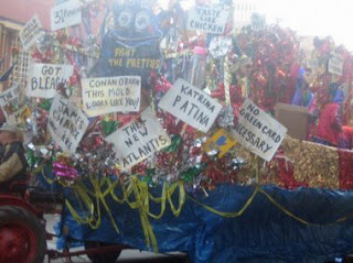 Katrina Mardi Gras Float