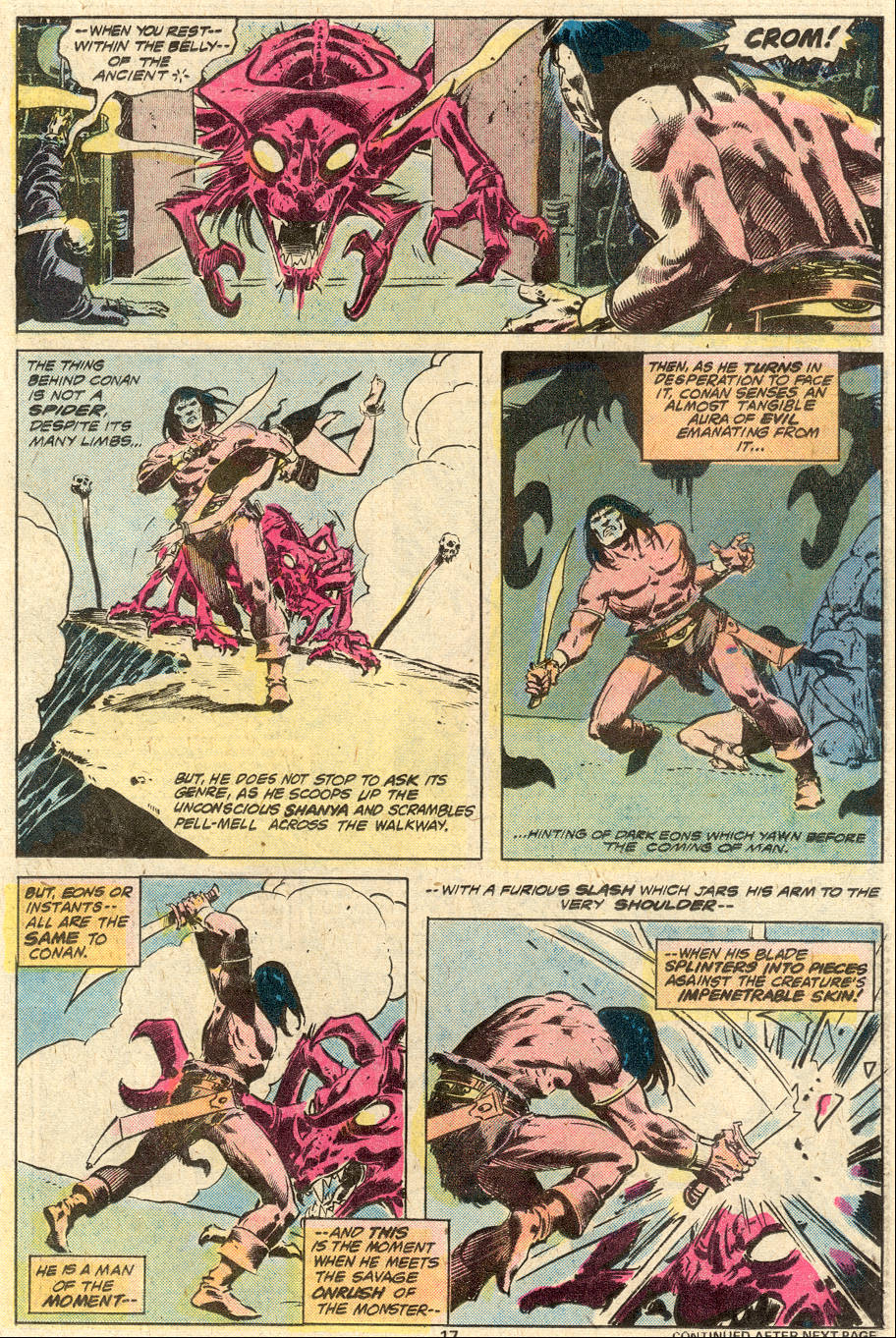 Conan the Barbarian (1970) Issue #87 #99 - English 12
