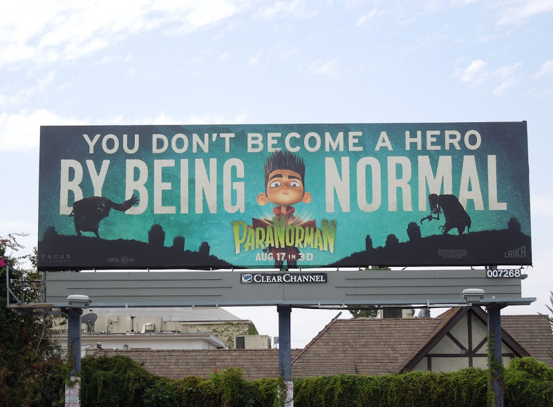 ParaNorman movie billboard