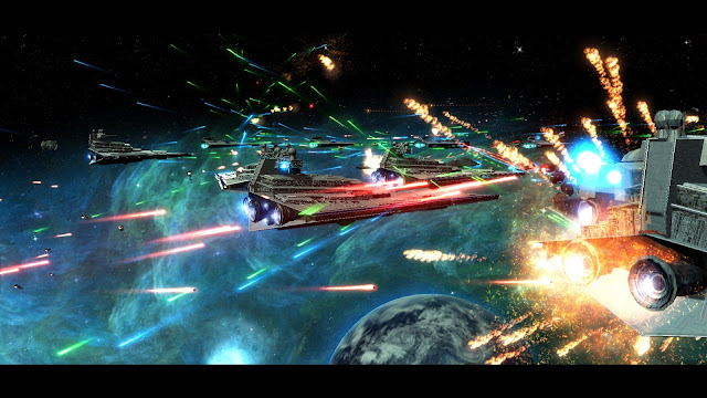 Mod Watch – Star Wars: Empire At War, Forces Of Corruption, Galactic Civil War Era star destroyer battle