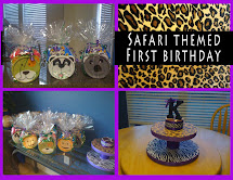 Safari Theme First Birthday Party