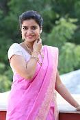 Swathi Dazzling in Pink saree-thumbnail-18