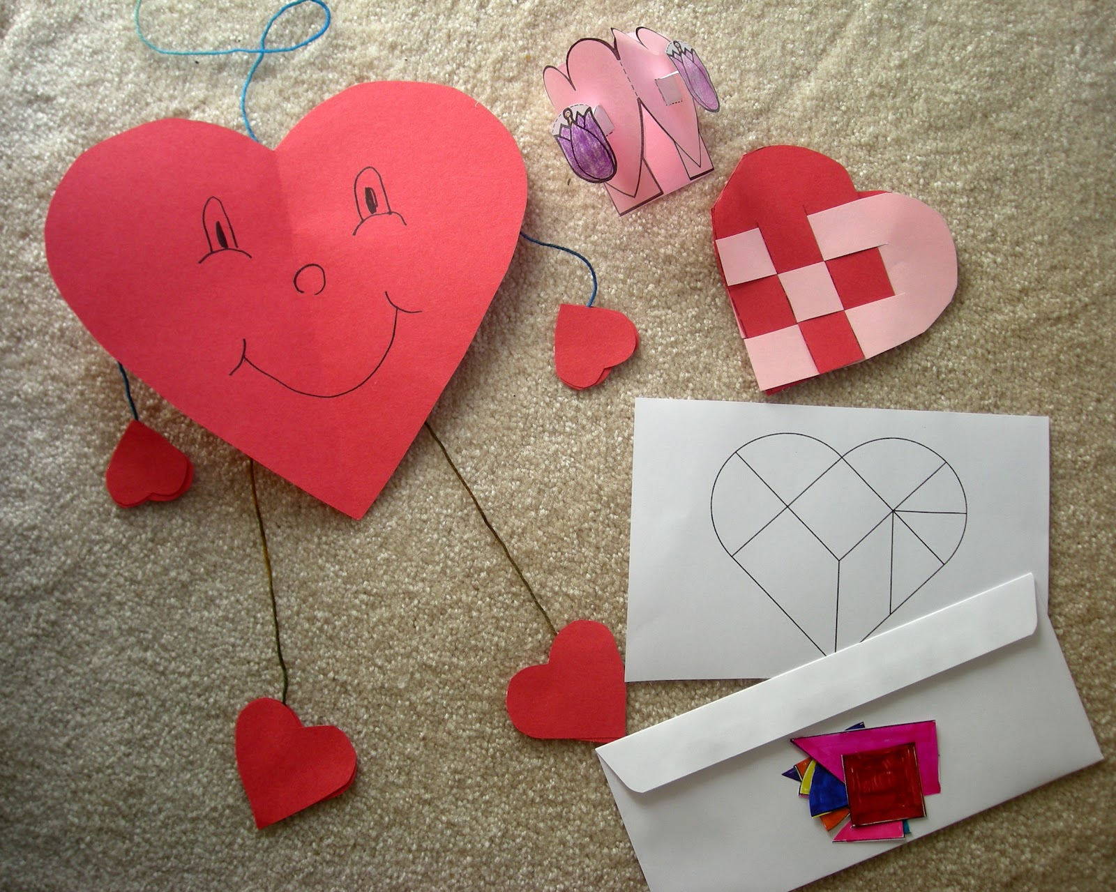 Notes from the story room evening family story time 5 for Valentine decorations to make at home