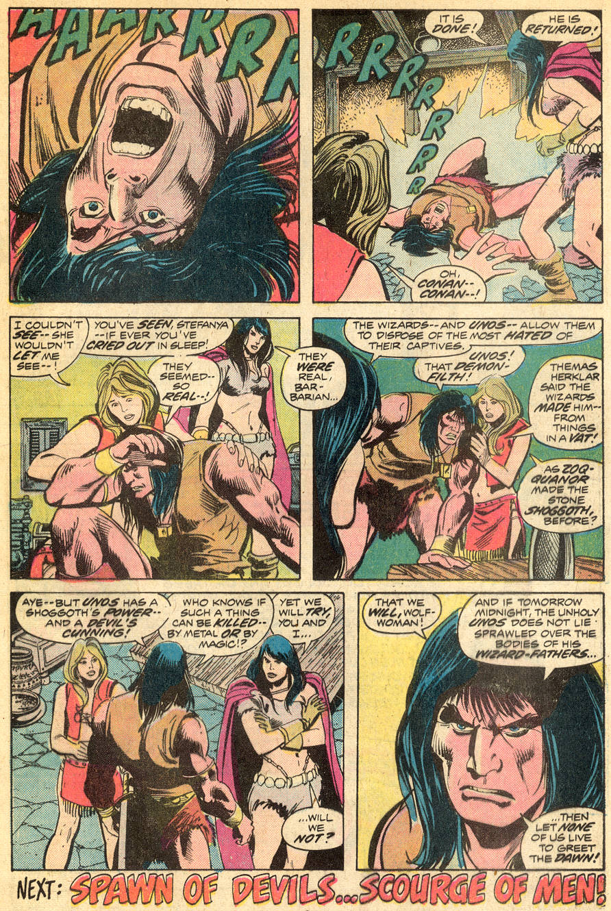 Conan the Barbarian (1970) Issue #50 #62 - English 19