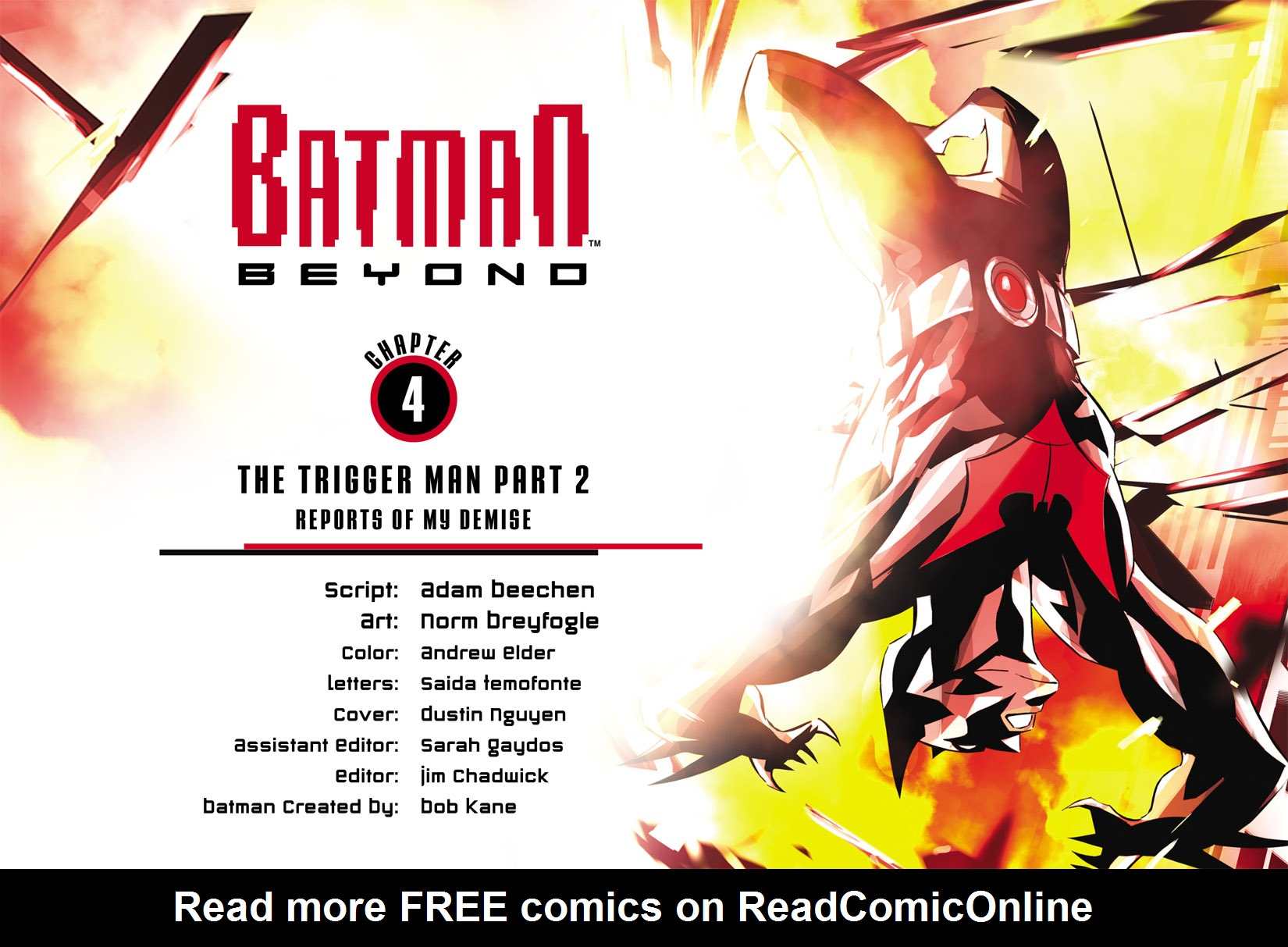 Batman Beyond (2012) Issue #4 #4 - English 2