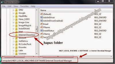 cara mengatasi idm block fake serial number