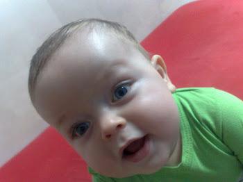 Samuel com sete meses
