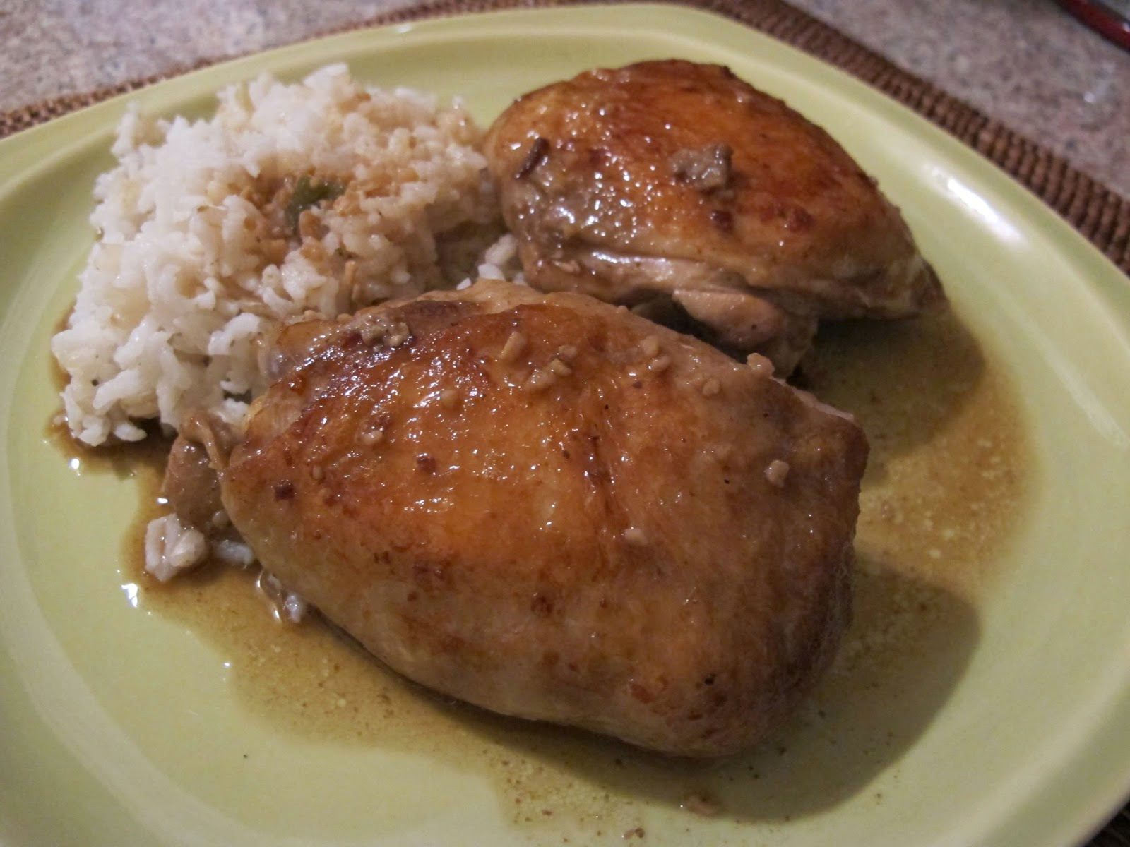 Filipino Chicken Adobo done Sous Vide