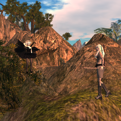 Fitheach Travels to Mirkwood to Meet with Windy